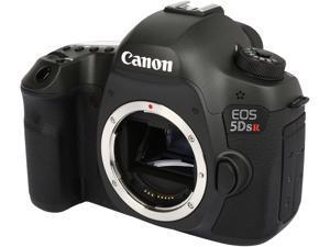 Canon EOS 5DS R 0582C002 Black 50.60 MP Digital SLR Camera Body