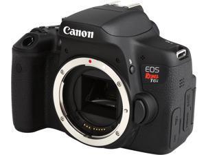Canon EOS Rebel T6i 0591C001 Black 24.20 MP Digital SLR Camera Body