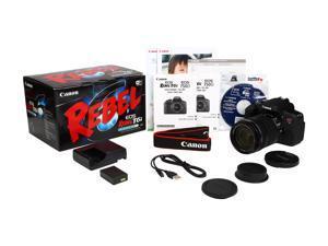Canon EOS Rebel T6i 0591C005 Black Digital SLR Camera with EF-S 18-135mm f/3.5-5.6 IS STM Lens