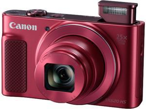 Canon SX620 Red Approx. 20.2 MP 25X Optical Zoom PowerShot Digital Camera