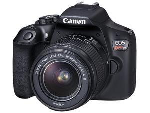Canon EOS Rebel T6 DSLR Camera with 18 - 55 mm Lens