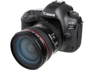 Canon 1483C018 EOS 5D Mark IV DSLR Camera with 24-70mm f/4L Lens