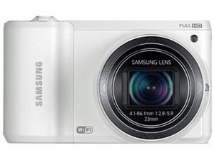 SAMSUNG WB800F White 16.3 MP 21X Optical Zoom SMART Camera Wi-Fi