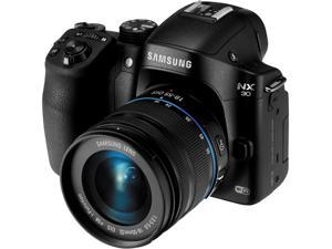 SAMSUNG NX30 Mirrorless Digital Camera with 18-55mm f/3.5-5.6 OIS Lens