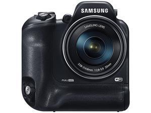 SAMSUNG WB2200F Black > 16.0 MP 60X Optical Zoom Digital Smart Camera