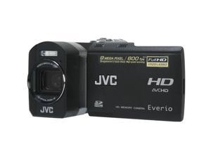 "JVC Everio GZ-X900 Black 1/2.33"" CMOS 2.8"" 207K LCD 5X Optical Zoom Full HD Memory Camera"
