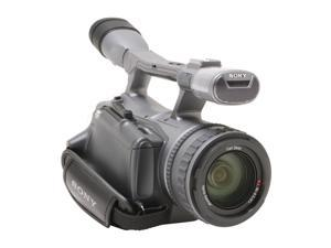 """SONY HDR-FX7 Gray 3 x 1/4"""" ClearVID CMOS Sensors 3.5"""" 211K Wide (16:9) Touch Panel LCD 20X Optical Zoom High Definition Handycam Camcorder"""