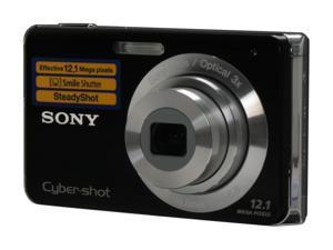 SONY Cyber-shot DSC-W190 Black 12.1 MP 3X Optical Zoom Digital Camera