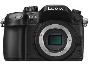 Panasonic DMC-GH4KBODY Black Digital Single Lens Mirrorless Camera - Body Only