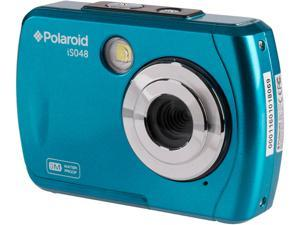 """Polaroid Waterproof Digital Camera which Include 16 MP Digital Camera, USB Cable, User Manual (16 MP, 2.4"""" Preview Screen, Micro SD Card Slot, Waterproof up to 10 Feet)"""