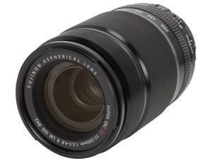 FUJIFILM 16384941 Compact ILC Lenses Fujinon XF 55-200mm F3.5-4.8 R LM OIS Lens Black