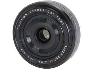 FUJIFILM 16389123 Compact ILC Lenses XF 27mm (41mm) F/2.8 R Lens Black