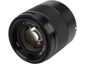 SONY SEL50F18/B Compact ILC Lenses 50mm F1.8 OSS Lens Black