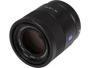 SONY SEL55F18Z Compact ILC Lenses Sonnar T FE 55mm F1.8 ZA Lens Black