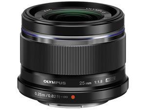 OLYMPUS V311060BU000 Compact ILC Lenses M.ZUIKO 25mm f1.8 Lens Black