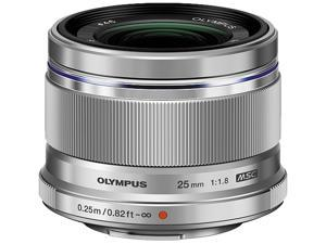 OLYMPUS V311060SU000 Compact ILC Lenses M.ZUIKO 25 mm f1.8 Lens Silver