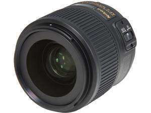 Nikon 2215 SLR Lenses AF-S NIKKOR 35mm f/1.8G ED Lens Black