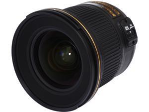 Nikon 20051 20051 AF-S NIKKOR 20mm f/1.8G ED Lens Black