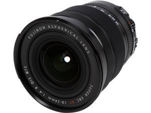 FUJIFILM 16412188 Compact ILC Lenses XF10-24mmF4 R OIS Lens Black