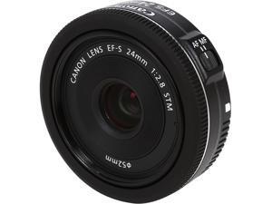 Canon 9522B002 SLR Lenses EF-S 24mm f/2.8 STM Lens Black