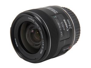 Canon 5345B002 SLR Lenses EF 24mm f/2.8 IS USM Wide-Angle Lens Black