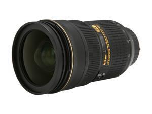 Nikon 2164 SLR Lenses AF-S Nikkor 24-70 f/2.8G ED Wide Angle Zoom Lens Black