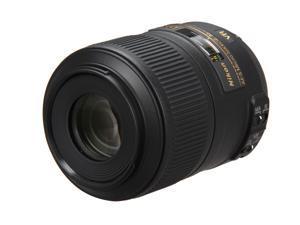 Nikon 2190 SLR Lenses AF-S DX Micro Nikkor 85mm f/3.5G ED VR Lens Black