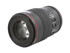 Canon 3554B002 EF 100mm f/2.8L Macro IS USM Lens Black