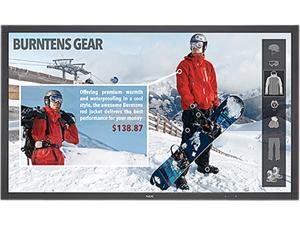 """NEC V484-T 48"""" Full HD Professional-Grade Large Format LED Commercial Display with Integrated IR Touch"""