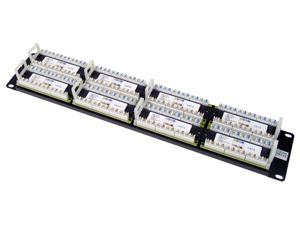 TRENDnet TC-P48C6 48-Port Cat 6 RJ-45 Rack Mount Patch Panel