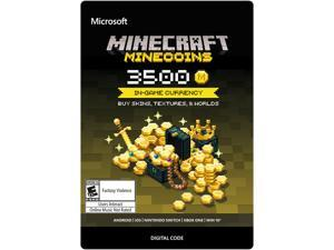 Xbox Minecraft Minecoins 3500 Coin In-game Currency [Digital Code]