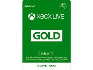 Xbox LIVE 1 Month Gold Membership US (Digital Code)