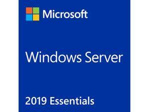 Windows Server 2019 Essential 64-bit - 1 Server, 2 CPU