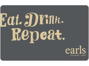 Earls $25 Gift Card (Email Delivery)