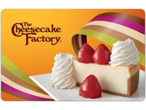 $50 Cheesecake Factory Gift Card + $10 GC