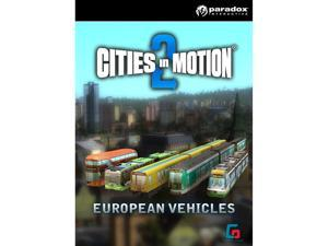 Cities In Motion 2:  European Vehicle Pack (DLC) [Online Game Code]
