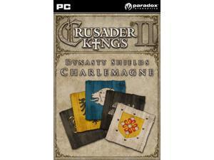Crusader Kings II: Dynasty Shields Charlemagne (DLC) [Online Game Code]