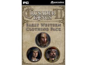 Crusader Kings II: Early Western Clothing Pack (DLC) [Online Game Code]