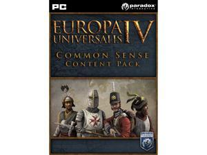 Europa Universalis IV: Common Sense Content Pack [Online Game Code]