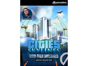 Cities: Skylines - Content Creator Pack: High-Tech Buildings [Online Game Code]