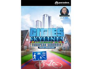 Cities: Skylines - Content Creator Pack: European Suburbia [Online Game Code]