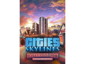 Cities: Skylines - Content Creator Pack: University City [Online Game Code]