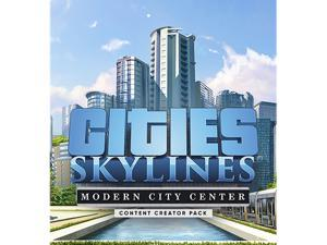 Cities: Skylines - Content Creator Pack: Modern City Center [Online Game Code]
