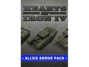 Hearts of Iron IV: Allied Armor Pack [Online Game Code]