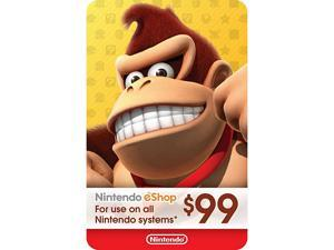 Nintendo eShop $99 Gift Card (Email Delivery)