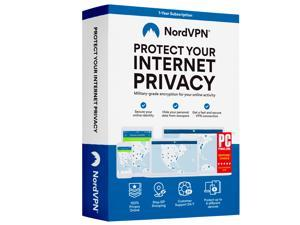 NordVPN Internet Security and Privacy Software for Windows/MacOS/Android/iOS - 6 Devices - 12-month VPN Subscription