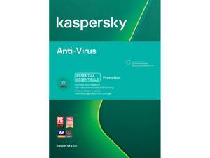 Kaspersky Anti-Virus, 3 Devices 1 Year, PC Download