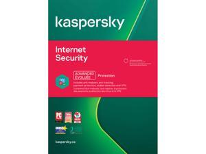 Kaspersky Internet Security 2021 - 3 Devices 1 Year (Canada)