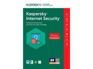 Kaspersky Internet Security 2017 - 3 PCs (Key Card)