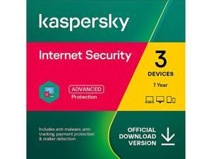 Kaspersky Internet Security 2021 1 Year / 3 Device Download